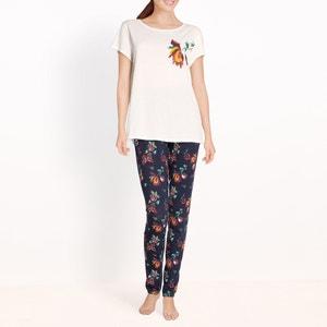 Pyjama imprimé fleuri en coton R édition