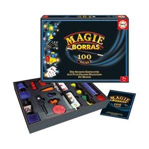 Coffret de magie : Magie Borras 100 tours EDUCA