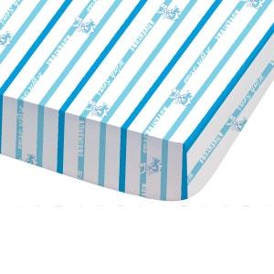 Drap Housse Imprimé  DISNEY JAKE AND PIRATES TRESOR 60% coton et 40% polyester JACK ET LES PIRATES