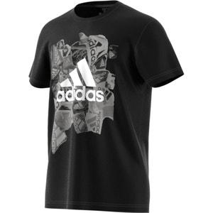 Camiseta de entrenamiento con motivos estampados ADIDAS