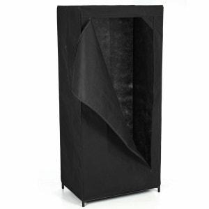 Penderie - H. 148 cm. - Noir ID SPACE