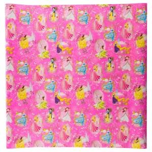 Papier cadeau princesse - 200 x 70 cm. - Rose foncé DISNEY
