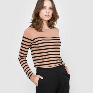 Marynarski sweter z wełny merynosowej Qualité Best atelier R