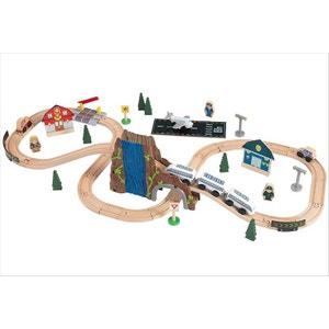 Circuit de train en bois Euro Express KIDKRAFT