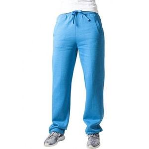 Bas de jogging URBAN CLASSICS Turquoise décontractée avec cordon élastique URBAN CLASSICS