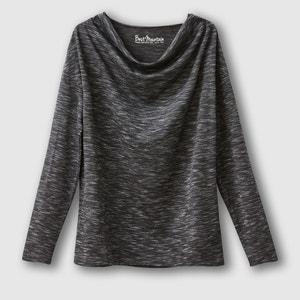 Cowl Neck T-shirt. BEST MOUNTAIN