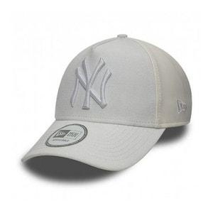 Casquette Trucker New Era NY Yankees PU Mid A Frame Blanc NEW ERA CAP