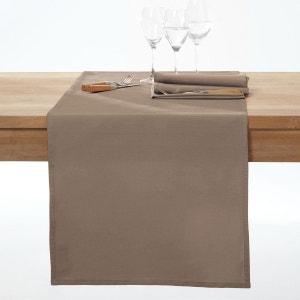 Chemin de table pur coton, traité anti-tâches, Scé SCENARIO