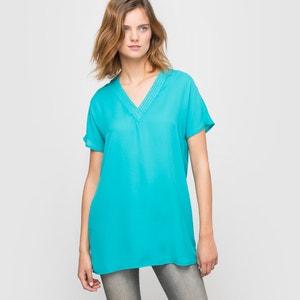 Plain Short-Sleeved Tunic R essentiel