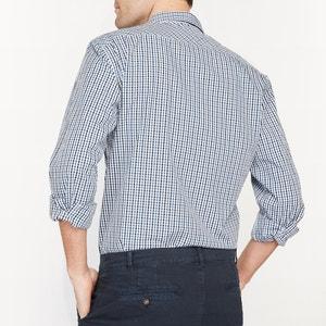 Camisa con corte recto 100% algodón R essentiel