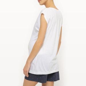 Kurzpyjama für Schwangerschaft und Stillzeit COCOON