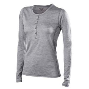 Silk-Wool - Sous-vêtement - gris FALKE