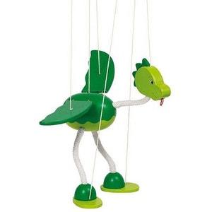Marionnette articulée Dinosaure Nepomuk GOKI