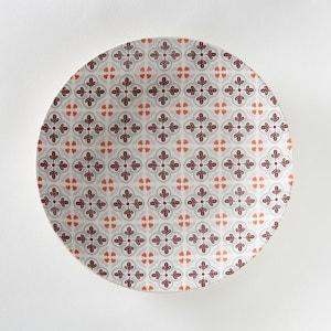 Assiette plate en faïence Ø26,5 cm (lot de 4) La Redoute Interieurs