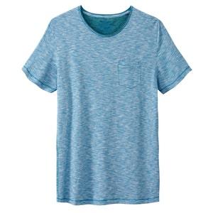 T-Shirt mit schmalen Streifen, reine Baumwolle TOM TAILOR