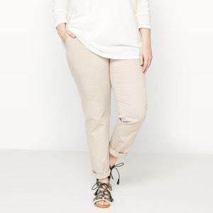 Calças chino, twill de algodão CASTALUNA