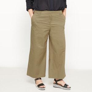 Pantalón pesquero ancho de twill de algodón CASTALUNA