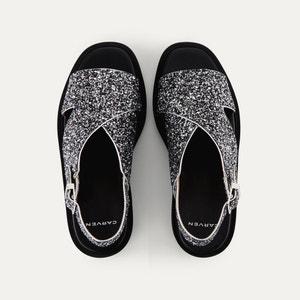 Sandales à paillettes CARVEN CARVEN