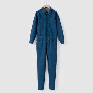 Jeans-Overall, lange Form, 10-16 Jahre R pop