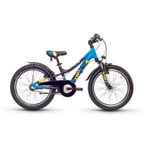 troX urban 20 3-S - Vélo enfant - alloy bleu/noir S'COOL