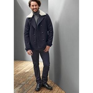 Пуловер с закатывающимся воротником 100% шерсть La Redoute Collections