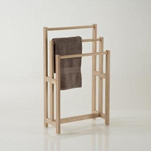 Meuble salle de bain la redoute - Porte serviette sur pied en bois ...
