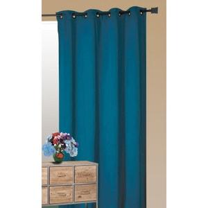 rideaux bleu petrole la redoute. Black Bedroom Furniture Sets. Home Design Ideas