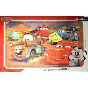 Puzzle Cadre 15 pièces - Le Monde de Cars - RAV86115 NATHAN