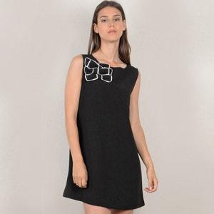 Ärmelloses, ausgestelltes Kleid, unifarben, kurz MOLLY BRACKEN
