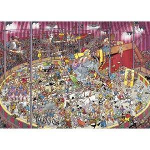 Jan van Haasteren - Puzzle Comic 1000 Le Cirque JUMBO