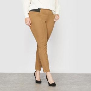 Ingenious Crease-Resistant Tapered Trousers CASTALUNA