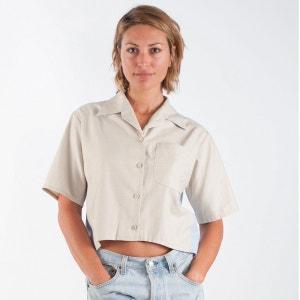 Chemise manches courtes coupe évasée et décolleté au dos WYLDE