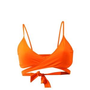 Maillot de bain Triangle Solid Naranja Mahino Orange (haut) EMMATIKA