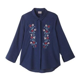 Floral Embroidered Shirt VERO MODA