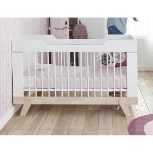 Lit bebe evolutif 70x140 bouleau blanc MALO ALFRED ET COMPAGNIE
