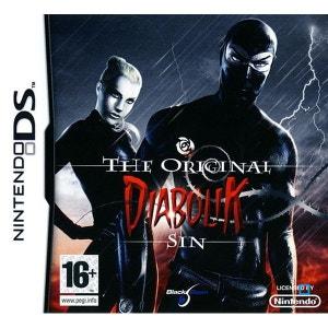 Diabolik : The Original Sin Nintendo DS BLACK BEAN