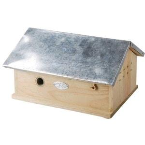 Maisonnette en Bois et Zinc pour Bourdons BEST FOR BIRDS