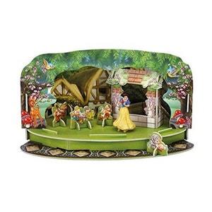 BLANCHE NEIGE ET LES 7 NAINS Disney Playset avec figurine Magic Moments Blanche Neige DISNEY PRINCESS
