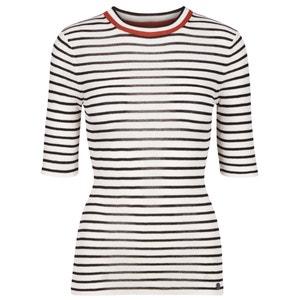 Shirt, runder Ausschnitt, gestreift NUMPH