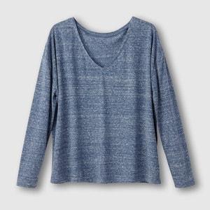 T-shirt melanżowy R essentiel
