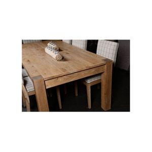 table rectangulaire bois   la redoute