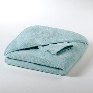 Cape de bain + gant bébé éponge 420 g/m² fille et garçon, Betsie R mini