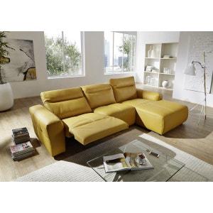 Canapé cuir angle KingKOOL relax 4 places électrique SEANROYALE