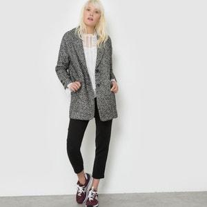 Manteau en laine chiné SUNCOO