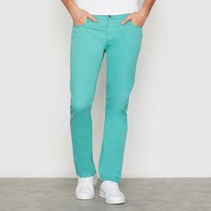Pantaloni 5 tasche taglio slim La Redoute Collections