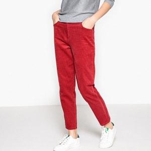 Pantalon Mum velours côtelé La Redoute Collections