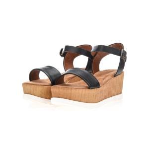 Sandales Compensées bois BIANCO