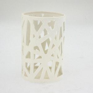 Lumignon en porcelaine ajourée - Diam. 10,5 cm ATMOSPHERA
