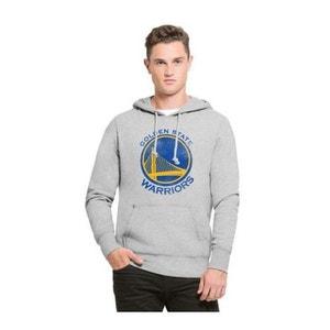 Sweat 47 Brand Golden State Warriors Gris Hoody 47 BRAND