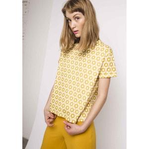 T-shirt met ronde hals en grafische print COMPANIA FANTASTICA